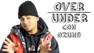 Ozuna Rates Reggaetón, Disney World, And Aliens  Over Under