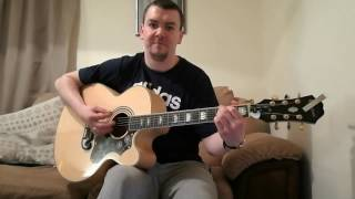 Lay Down / DMA's / Chris Hart Acoustic Cover