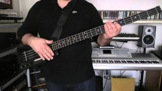 Bass Cover - Howard Jones - Automation - with Steinberger XL2 bass