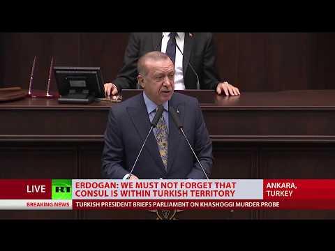 'Vicious, violent murder!': Erdogan on Jamal Khashoggi death
