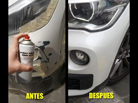 Repintado de carrocerias con sprays