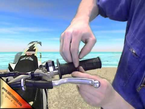 comment demonter guidon moto