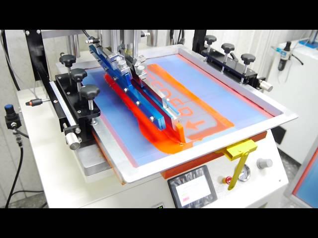 FA-400/500/600TSN Servo Motor Screen Printer - Operation Video