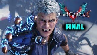 DEVIL MAY CRY 5 - FINAL Gameplay en Español + Final Secreto - PS4 PRO [1080p 60fps]