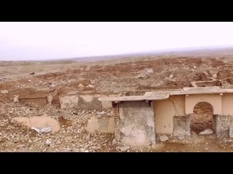 ISIS turns ancient ruins into rubble