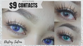 Siesta Contacts Pearl Edition Try-On Haul Review |11 Bold Colors| ColorCL.com