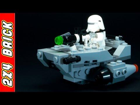 Vidéo LEGO Star Wars 75126 : Le Snowspeeder du Premier Ordre