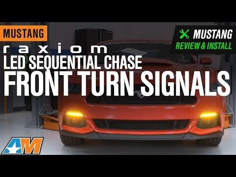2015-2017 Mustang Raxiom LED Sequential Chase Front Turn Signals Review & Install