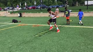 Youth football conditioning