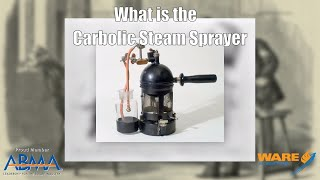 History of Antiseptics | Joseph Lister's Carbolic Steam Sprayer