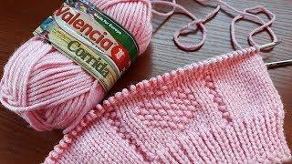 """Комплект """"Нежность"""".  Шапка, шарф, варежки  спицами. Часть 1. Шапка."""