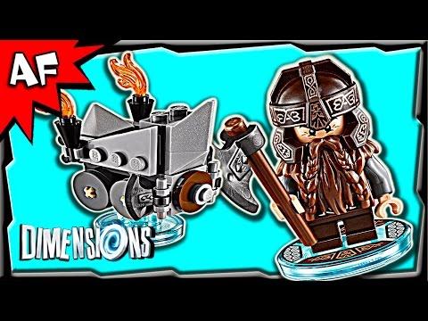 Vidéo LEGO Dimensions 71220 : Pack Héros : Gimli