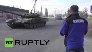 Ukraine: LNR/LPR forces withdraw T-72 tanks from frontlines