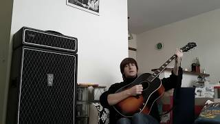 John Lennon (Impersonator) - 1822! Lonesome tears in my eyes -