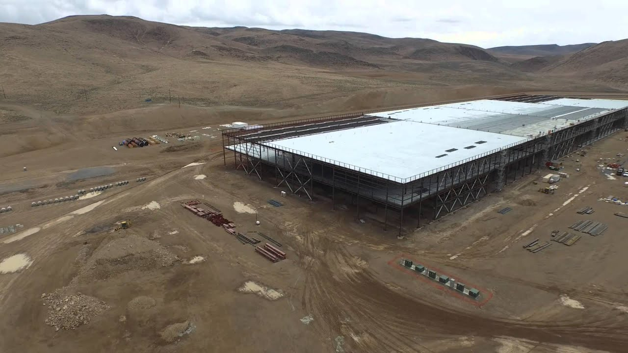 Tesla's Battery Gigafactory Is Coming Along Nicely, Thanks