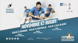 Cattolica Test Match 2018: press conference - 24/10/2018