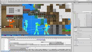 Behind the Scenes - Animation vs. Minecraft