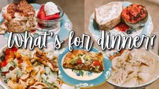 EASY FAMILY DINNER IDEAS // WHAT'S FOR DINNER WEDNESDAY