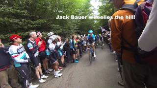 preview picture of video 'A trip to Tour of Britain 2013 - Stage 6 - Barhatch Lane and Puttenham'