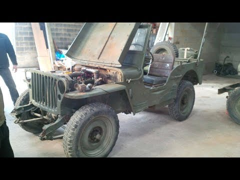 Download Restauration jeep willys 1945 HD Mp4 3GP Video and MP3