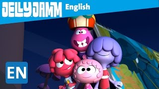 Jelly Jamm English. The Camping Trip. Children's animation series. S02 - E73