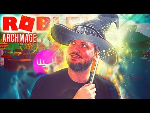 LØB ELG, LØB! - Roblox Archmage Dansk