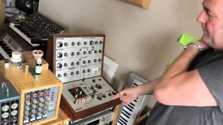 Adrian Utley (Portishead)'s Synth Collection Tour