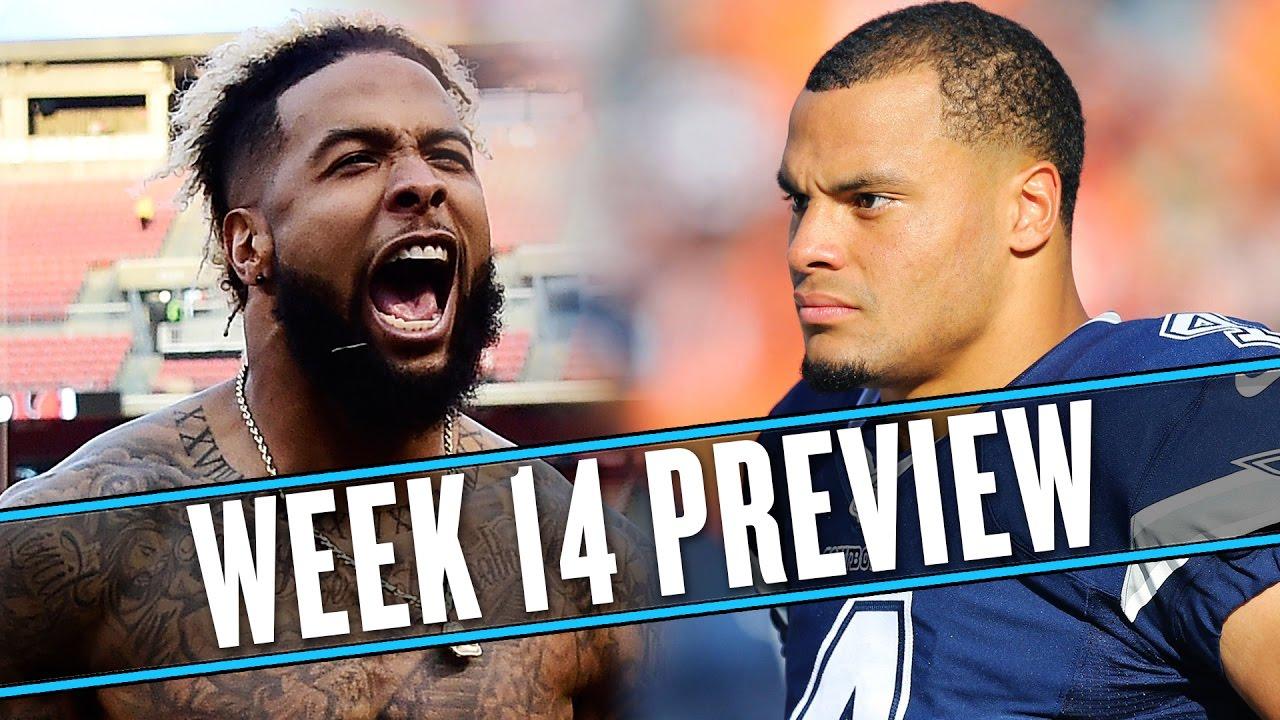 NFL Week 14 preview: Dak Prescott and Zeke Elliott just aren't fair | Uffsides thumbnail