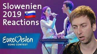 "Zala Kralj & Gašper Šantl - ""Sebi"" - Slowenien   Reaction   Eurovision Song Contest"