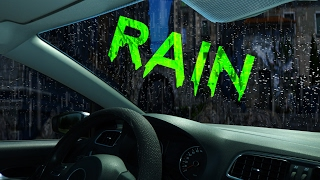 🎧 BEST RAIN ON CAR ROOF | Soothing Rain Sounds for Deep Sleep and Relaxation, @Ultizzz day#16