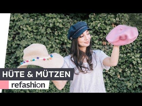 FASHION TIPPS: Welcher Hut, welche Mütze steht mir eigentlich? ~ refashion | OTTO
