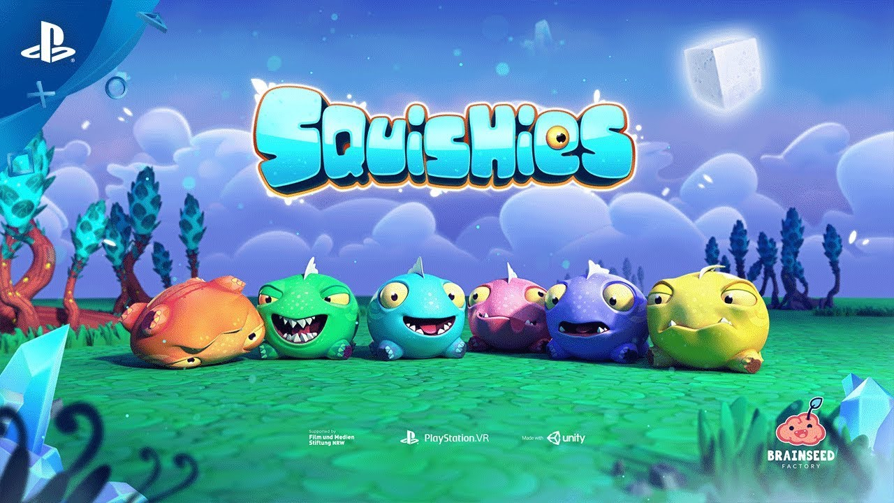 Squishies Rolls To PS VR November 20