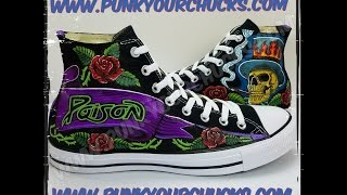 Custom Rikki Rockett Custom Converse