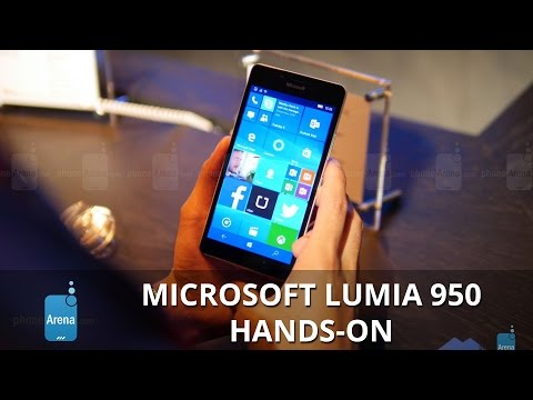 Microsoft Lumia 950 hands-on