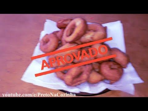 ROSQUINHAS FRITAS DE PADARIA | Preto Na Cozinha