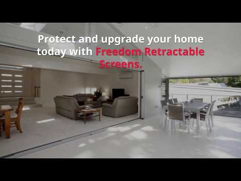 Retractable Fly Screens for French Doors Brisbane