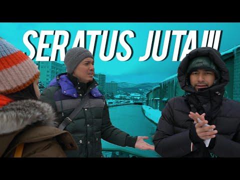 100 Juta Buat Nyebur Di Jembatan Otaru Canal Minus 16 Derajat
