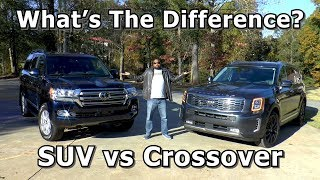 SUV vs Crossover - What's The Difference?