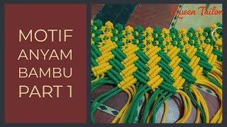Macrame Bag - Tutorial Motif Anyam Bambu