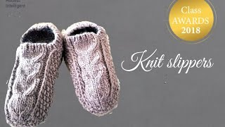 How To Knit The Most Comfy Slippers.  Step By Step Guide.