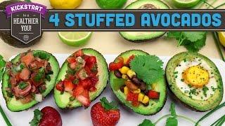 4 Stuffed Avocado Recipes! - Mind Over Munch Kickstart 2016