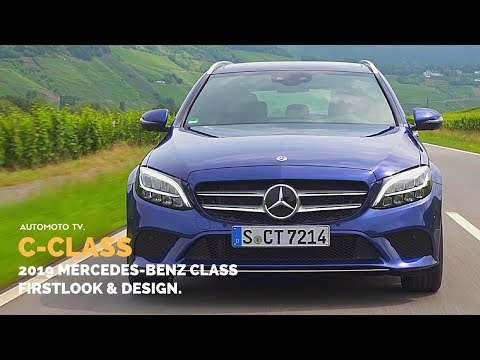 2019 Mercedes-Benz C-Class C 220 D Estate Brilliant Blue | Design & Driving Impressions.
