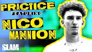 Nico Mannion Mic'd Up TALKING THAT TALK 🗣 | SLAM Practice