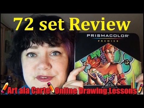 , title : '72 Prisma Colored Pencil Set  Review'