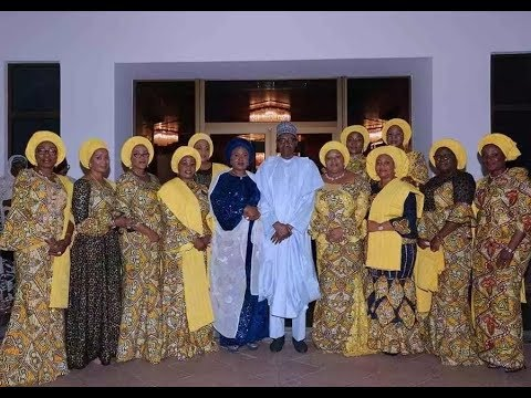 Buhari receives wives of 36 state governors at the Presidential Villa (photos)