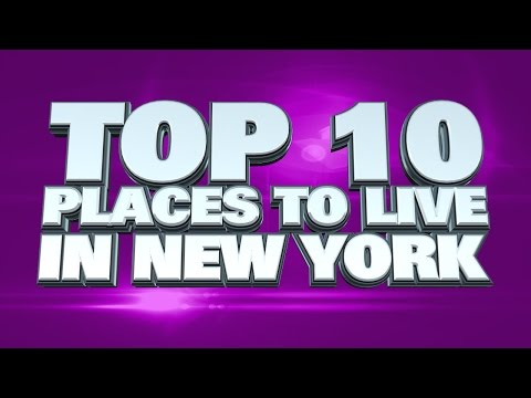 Video 10 best places to live in New York State 2014