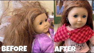 Fixing American Girl Doll