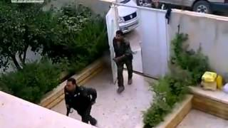 preview picture of video '20110723 - Daraa City - Woman films arrival of shabiha who then raids neighboring house'