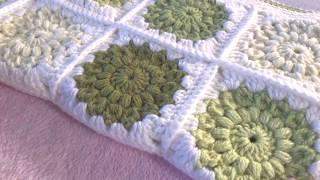 CROCHET: Sunburst Granny Square - Priscilla Hewitt Pattern