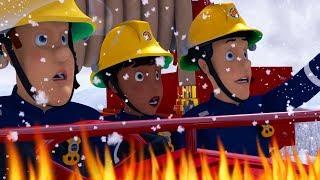 Fireman Sam US New Episodes HD | Dashing through the Snow - Winter Saves! 🚒 🔥 Kids Cartoon